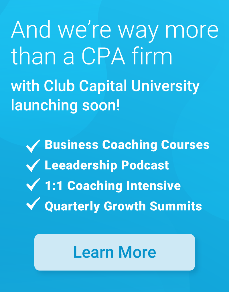 club capital leadership coaching